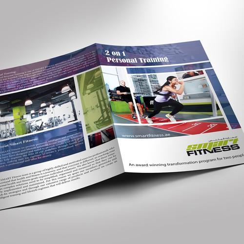 Brochure design for an 39 award winning 39 personal training for Award winning brochure design