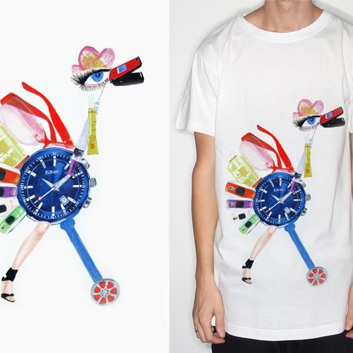 Runner-up design by Egha.delina