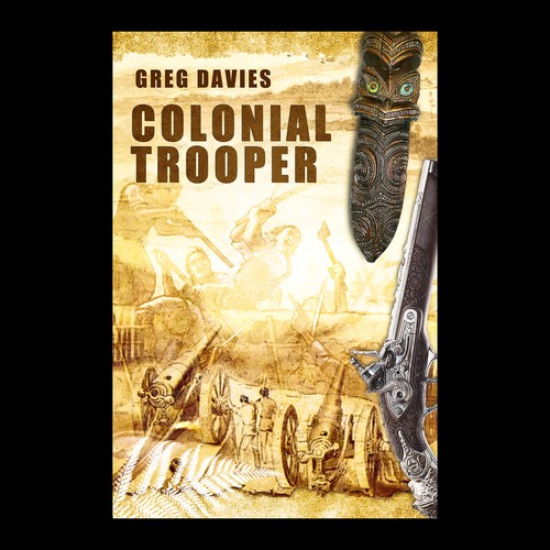 Book Cover Design Nz : Book cover for historical fiction new zealand land wars